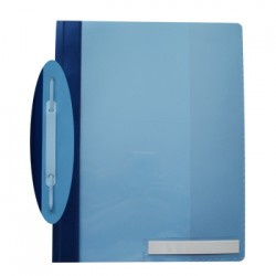 Classificador Plast.Capa Cristal Durable 2510 Azul Claro-1un