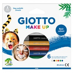 Lapis Facial Giotto Make Up Cores Classicas Cx 6un