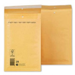 Envelopes Air-Bag 120x215 Kraft Nº 00 un