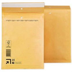Envelopes Air-Bag 150x215 Kraft Nº 0 un
