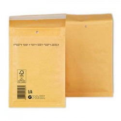 Envelopes Air-Bag 150x215 Kraft Nº 0 Pack 10un