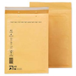Envelopes Air-Bag 180x265 Kraft Nº 1 un