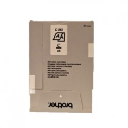 Papel Original e Copia A6 (C251S) 105mmx148mm