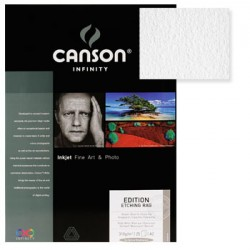 Papel Canson Infinity Ed. Etching Rag A4 100% 310gr 10Fls