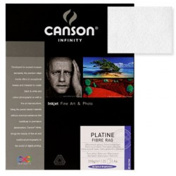 Papel Canson Infinity Platine Fibre 0,432x55,9 100% 310g 25F