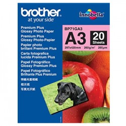 Papel BROTHER Fotográfico Mate A3 145gr 25 Folhas
