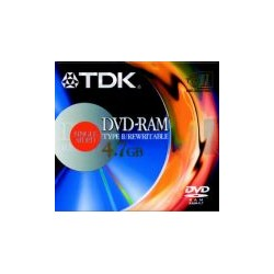 Dvd-Ram TDK Regravavel 5.2GB